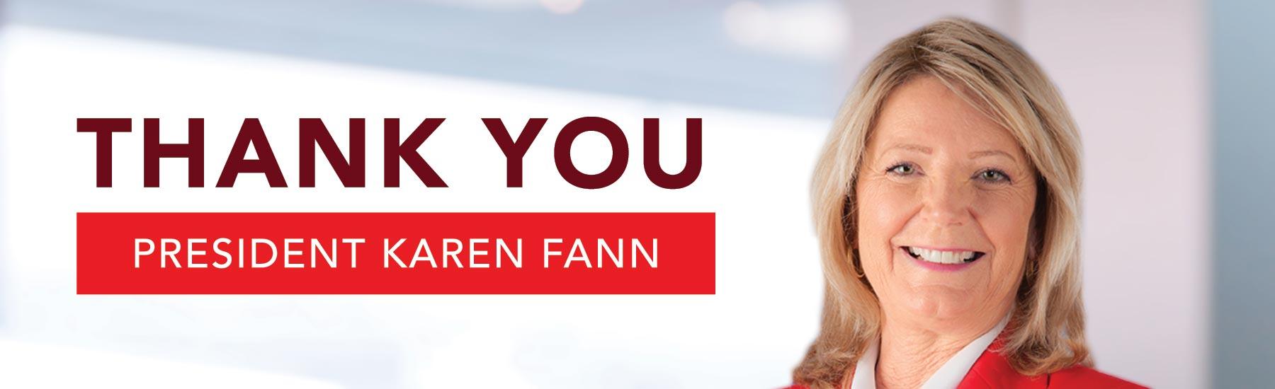 President Karen Fann
